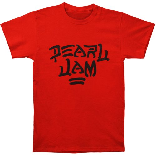 Pearl Jam Men's Destroy T-shirt Small Red