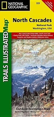 North Cascades National Park Map (North Cascades National Park[MAP-NORTH CASCADES NATL PARK][Folded)