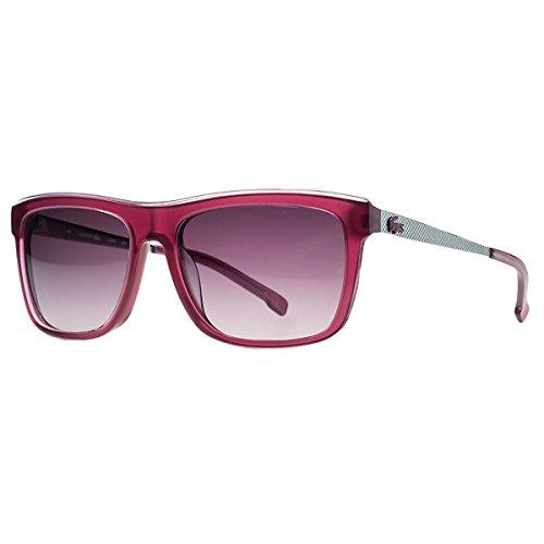 Lacoste Women's Square Translucent Pink Sunglasses (Sunglasses Lacoste Red)
