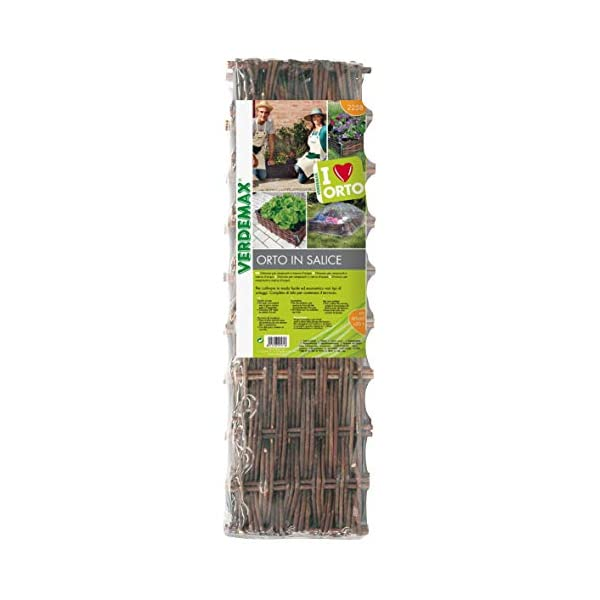 VERDEMAX 8015358022583 orto in salice-Giardinaggio contenitori da Raccolta, Unica 4 spesavip