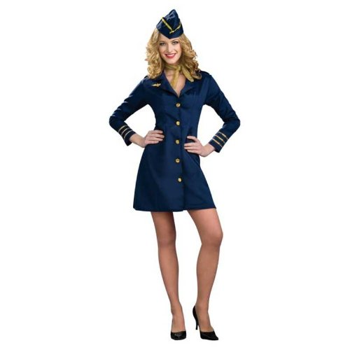 Rubie's Costume Air Hostess Costume, Standard, Standard