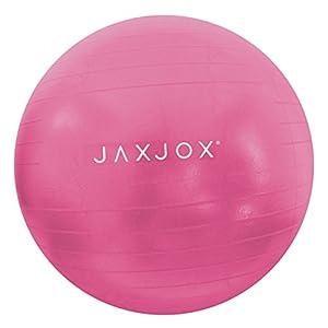 JAXJOX Balance Stability Gym/Swiss Ball 75cm (pump included), Pink