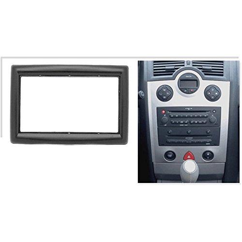 Kit de montaje de radio de coche de 2 dines para Renault Megane 2 con carcasa