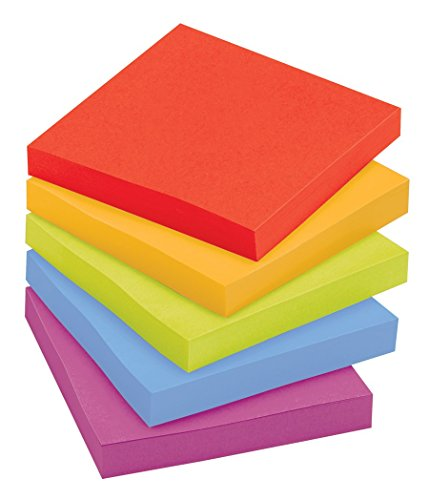 Amazon.com : Post-it Super Sticky Notes, 3 in x 3 in, Marrakesh ...