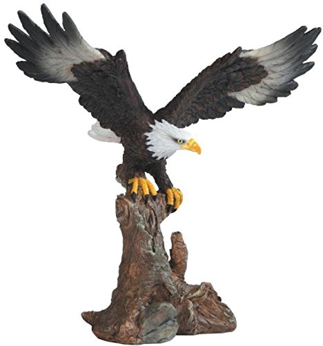"StealStreet Bald Eagle On Brown Branch Figurine, 6.75"" for sale  Delivered anywhere in USA"