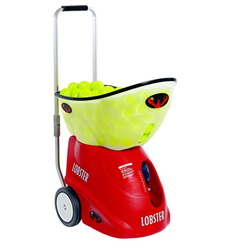 Lobster Sports elite grand five limited edition tennis ball machine -