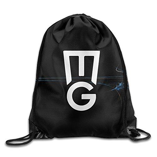 BYDHX Manu Ginobili MG Logo Drawstring Backpack Bag (Victorinox Sling)