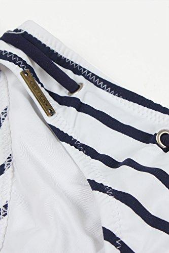 Maillot Pièces Admas Femme Deux Marine Bain Bleu De 8xUUdIqwg