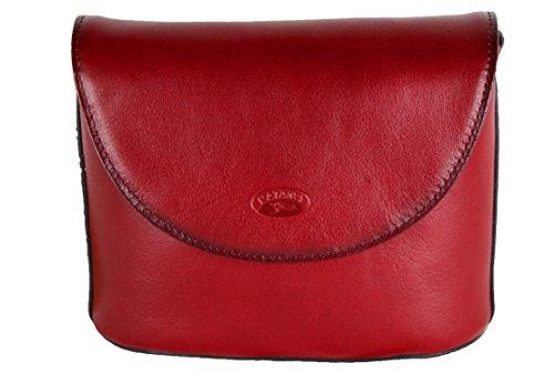 Katana petit sac en cuir réf 1803 + CADEAU SURPRISE Rouge