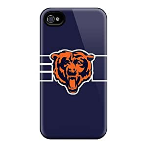 CaroleSignorile Scratch-free Phone Cases For Iphone 6- Retail Packaging - Chicago Bears