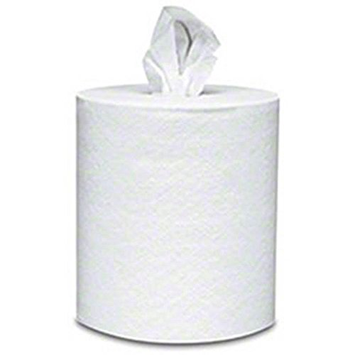 Von Drehle Preserve® White Center Pull Paper Towels - 990-ft, 1-Ply (Case of 6 Rolls)