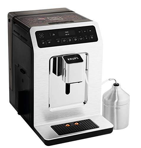 KRUPS EA89 Deluxe One-Touch Super Automatic Espresso and Cappuccino Machine, 15 Fully Customizable Drinks,Gray by KRUPS (Image #3)