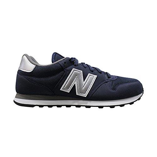 New Balance 500Herren Schuhe Running Jogging Freizeit Gehstock blu-grigio