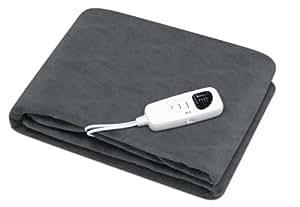 Astoria AD061A - Manta eléctrica (algodón), color gris