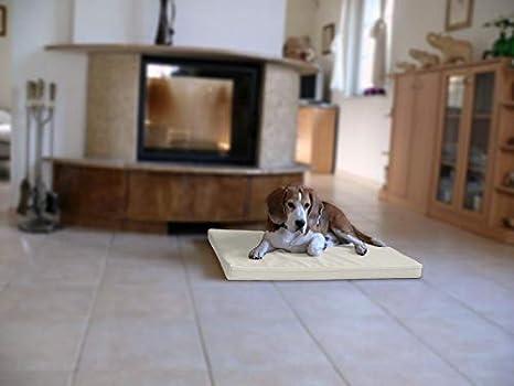 Omar - Ortho ortopédico hundematte piel sintética Perros cama colchón 100 x 135 cm Color Crudo: Amazon.es: Productos para mascotas