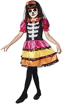 My Other Me Me-203176 Disfraz Catrina esqueleto para niña ...