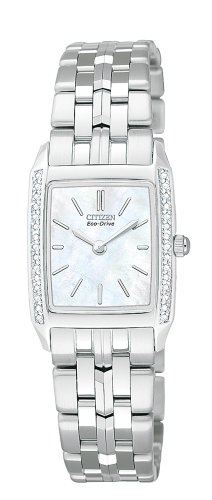 Stiletto Diamond Watch - Citizen Women's EG3110-56D Eco-Drive Stiletto Diamond Watch