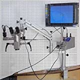 Tathastu Table Clamp, Dental Microscope, 5 Step, With Video Camera & Monitor