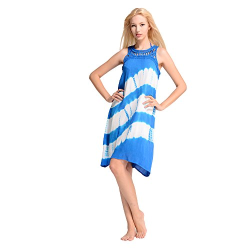 Waikiki Line sleeveless dress beach swimsuit coverup