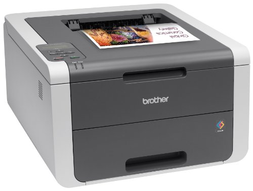 Brother Printer HL3140CW Color Printer Networking, Amazon Dash Enabled