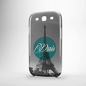 Paris Samsung S3 3D wrap around Case - Cities