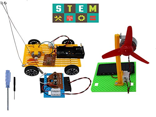 Science Kits,2 Set Educational Engineering DIY Stem Products for Kids