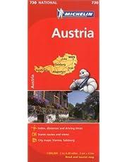 Michelin Austria Map 730