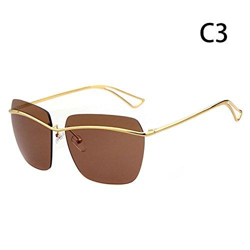 Damas de gafas protección sol exteriores C mujer C Gafas hombres de de Moda Accesorios ZHANGYUSEN UV Aw8qanvFF