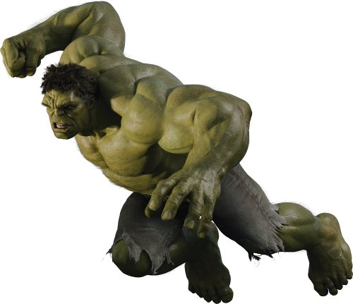 """36"""" Incredible Hulk Avengers #2 Wall Graphic Decal Sticker Mural Home Kids Game Room Art Decor NEW !!"""