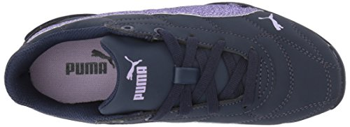 PUMA Girls' Tune Cat 3 Glam Sneaker, Peacoat-Purple Rose, 3.5 M US Big Kid by PUMA (Image #8)