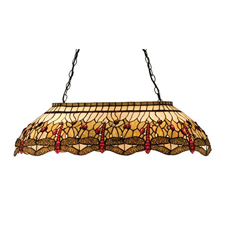 Meyda Tiffany 17508 Island/Billiard Fixture from The Scarlet Dragonfly Collection
