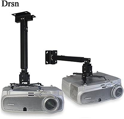 Drsn - Soporte universal para proyector de techo, ángulo ajustable ...