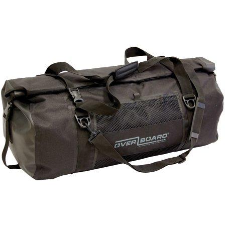 OverBoard Waterproof Duffel Bag, Black, 60-Liter