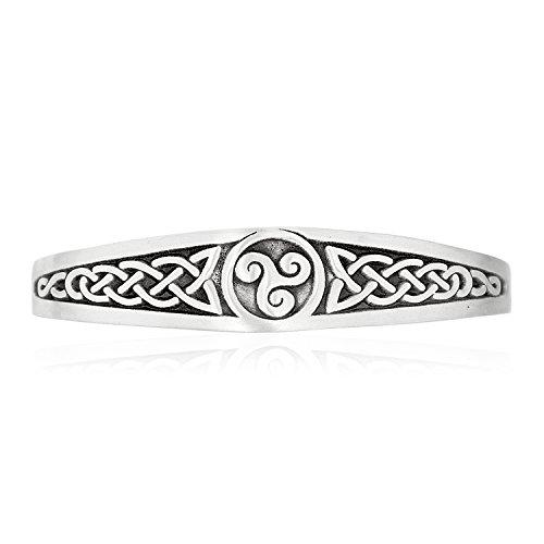 Dan's Jewelers Irish Triskele Celtic Knot Bracelet, Fine Pewter Jewelry by Dan's Jewelers (Image #5)