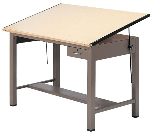 Ranger Steel Four Post Table w Tool Drawer (30 in. L x 42 in. W) Ranger Steel Four Post