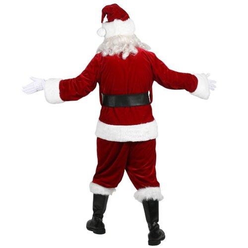 Velvet Complete Santa Costume - Adult-X-Large