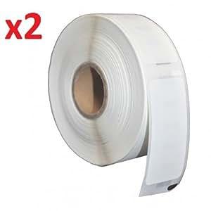Prestige Cartridge Zebra 100x50mm - Cinta para impresoras de etiquetas Zebra (2 rollos, 1000 etiquetas por rollo)