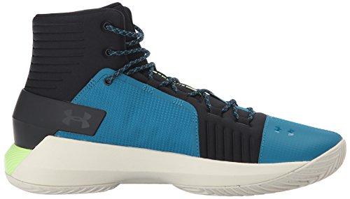 Drive Lime Bayou Uomo da Armour Under Blue Basket Scarpe UA Quirky 4 Black OnBwgHq