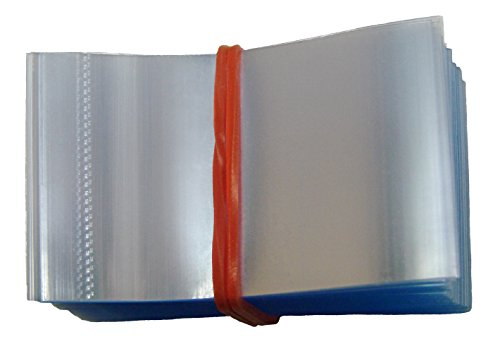Perforated Shrink Wrap Bands Pack of 200 - Fits Cap Diameter 3/4 to 1