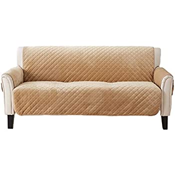 Amazon Com Yesyees Leather Sofa Cover Sofa Slipcover