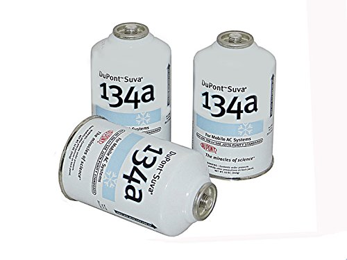 DuPont 3 Cans R-134a Suva A/C Automotive Refrigerant/Freon R134a (12oz