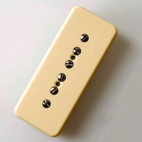 Tonerider Pickups P90: Vintage 90 Alnico V Soapbar Guitar Pickup (Neck, Cream) - Neck Pickup Cream