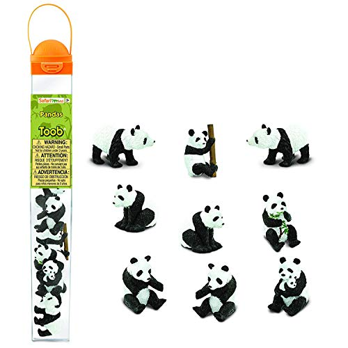 Safari Ltd Pandas TOOB 9 pieces