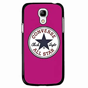 Converse All Star Chuck Taylor Phone Case Cover MK03 for Samsung Galaxy S4mini Black Hard Case_Pink