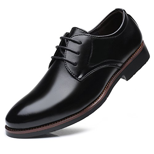 LHLWDGG.K Männer Arbeiten/Büro/Business/Kleid Schuhe Leder Oxford Schuhe Brown