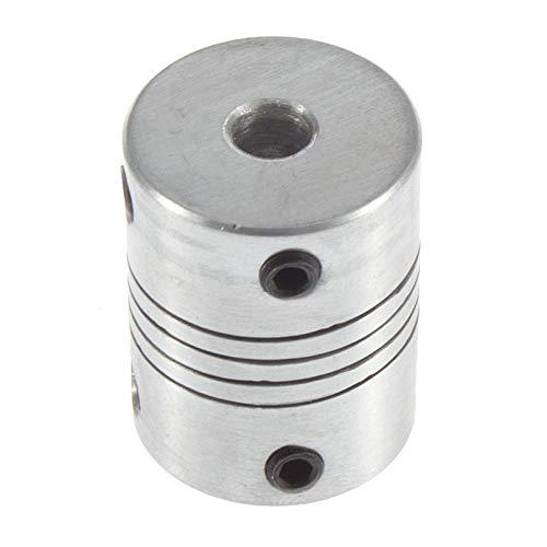 sahnah Hot 3D Printer Stepper Motor Flexible Coupling Coupler//shaft Couplings 5mm*8mm*25mm Flexible Shaft Shaft Coupler Motorcoupling