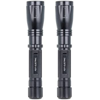 FEIT Electric 500 Lumens High Performance LED Flashlights, 2-Pack