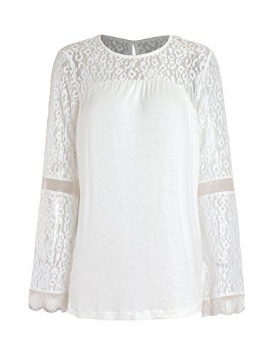 Sedrinuo Womens Sleeve Stitching Blouse product image