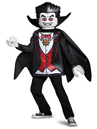 Disguise Lego Vampire Classic Costume, Black, Small (4-6) -
