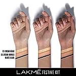 Lakme Festive Kit- 9 to 5 CC Cream Bronze, 20 g & Lakme Eyeconic Kajal, 0.35g, 2 Pieces